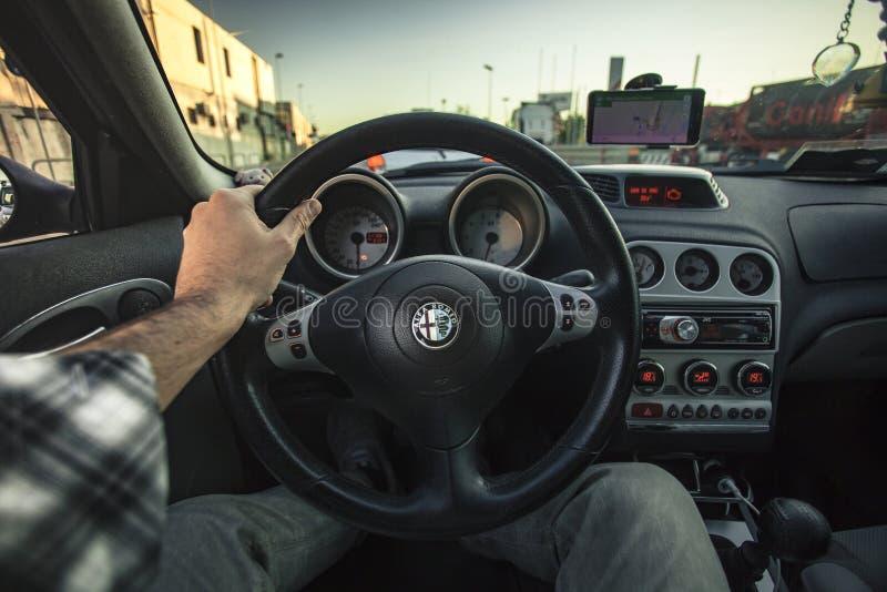 驾驶汽车#3 免版税库存照片