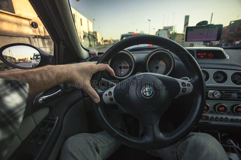 驾驶汽车#2 免版税库存图片