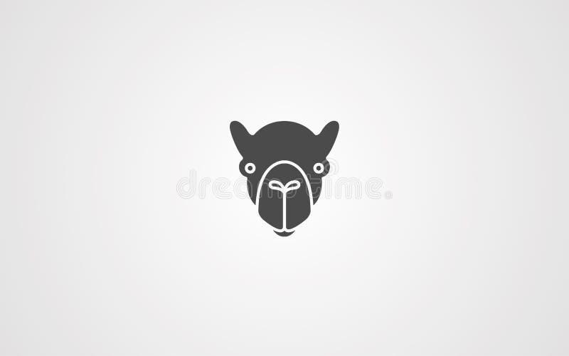 骆驼传染媒介象标志标志 皇族释放例证
