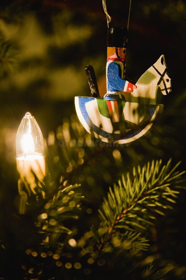 骑士圣诞节 免版税库存照片
