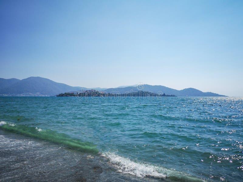 骑士海岛, fethiye, Mugla 库存图片