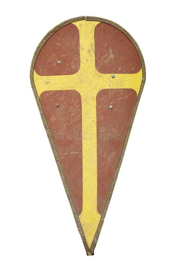骑士盾 免版税库存图片
