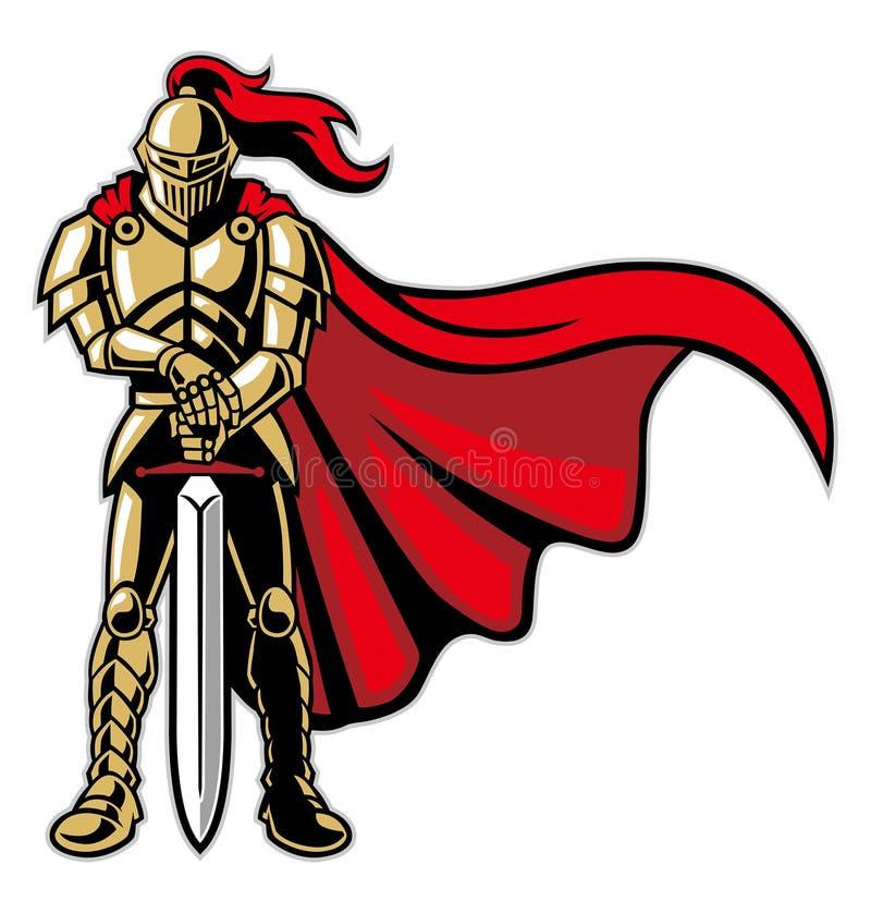 骑士 皇族释放例证