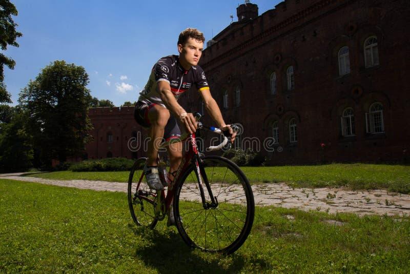 """骑自行车者堡垒cytadelowy 2 """"KoÅ› ciuszko ` 库存照片"""