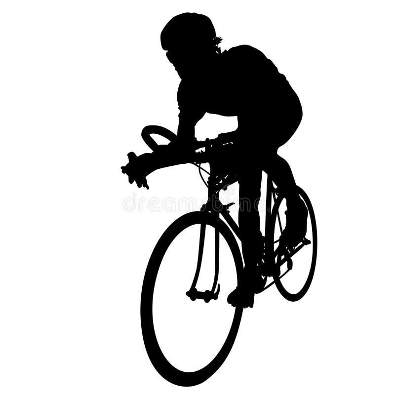 骑自行车者种族 皇族释放例证