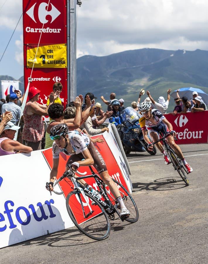 骑自行车者罗迈因Bardet 编辑类照片