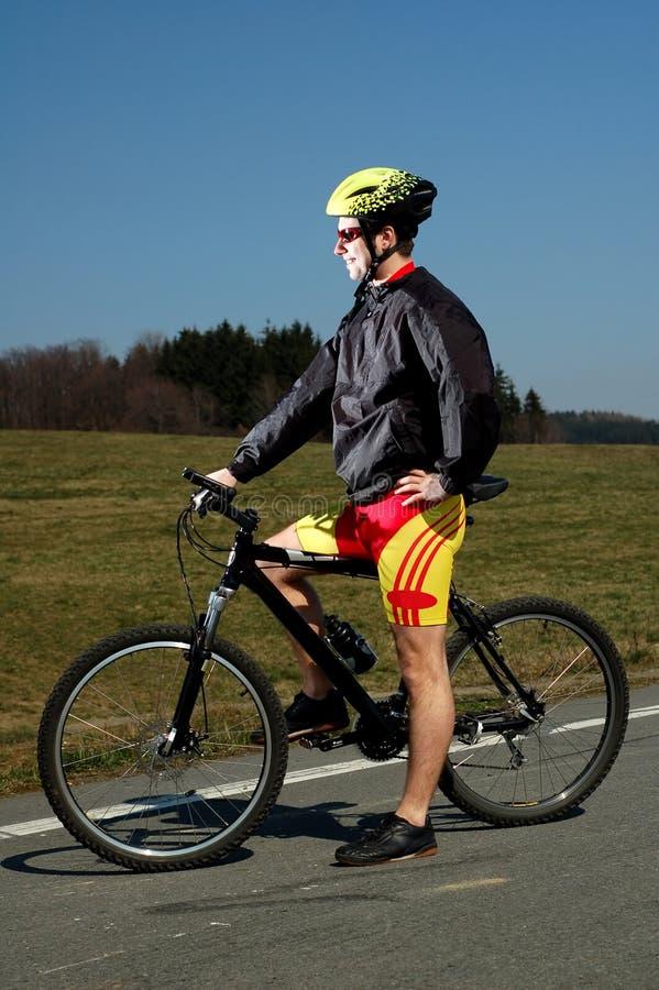 骑自行车 库存照片