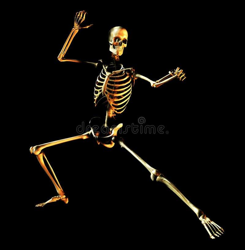 骨头姿势4 库存例证