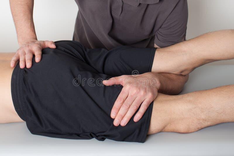 骨盆操作 库存图片