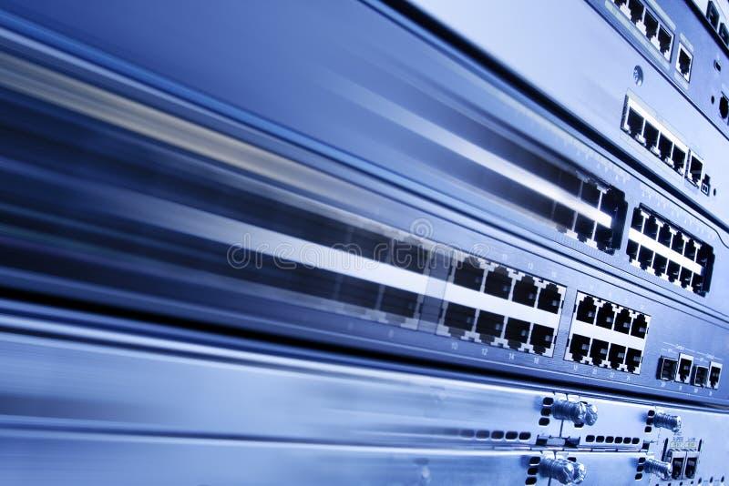 高互联网速度 免版税库存图片