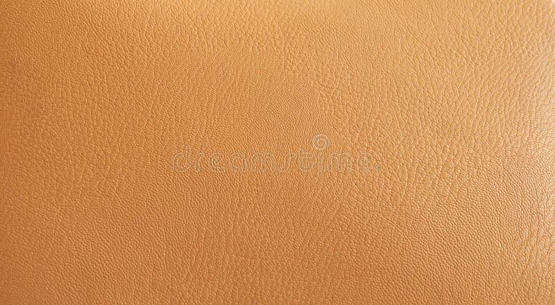 高分辨率皮革米黄背景 库存图片