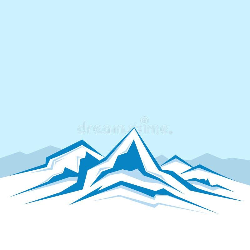 高加索佐治亚gudauri山冬天 免版税库存照片