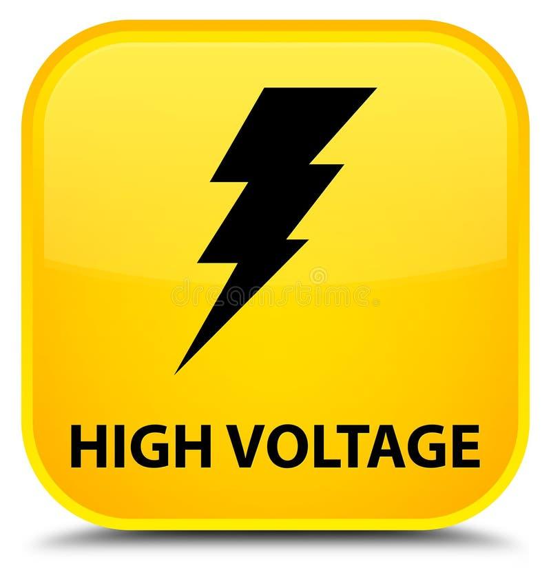 按钮包括有插画,符号,伏特,正方形,闪电,框架-103862647黄色v按钮模具设计图片