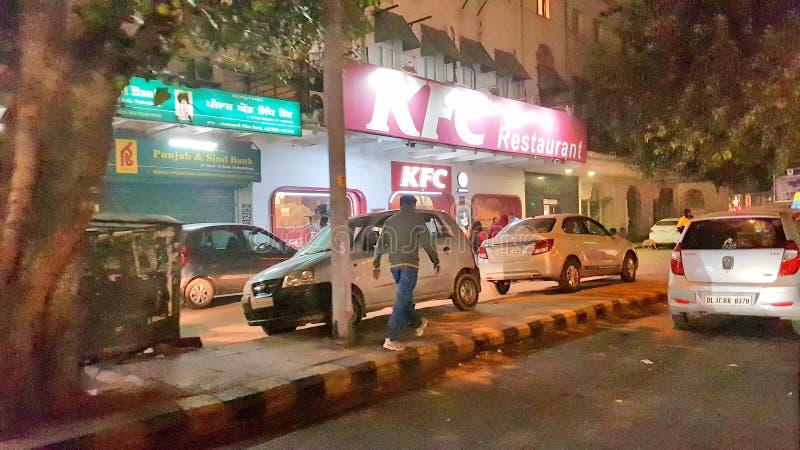 高哈蒂镇,阿萨姆邦首都 库存照片