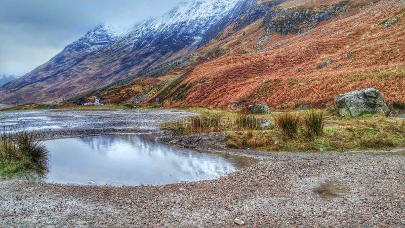 高地在苏格兰 免版税库存照片
