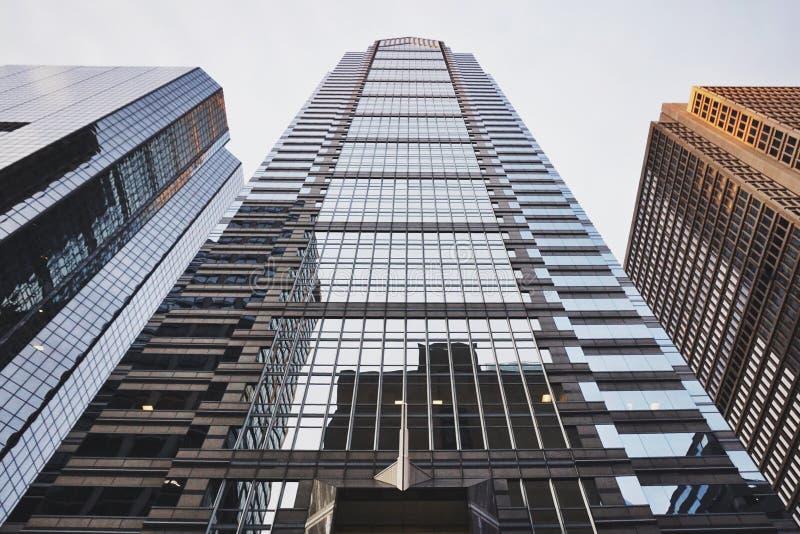 高城市大厦 免版税库存图片