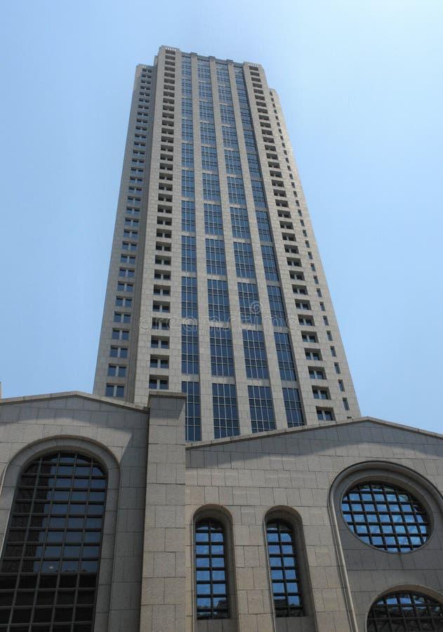 高大厦的办公室 免版税库存图片