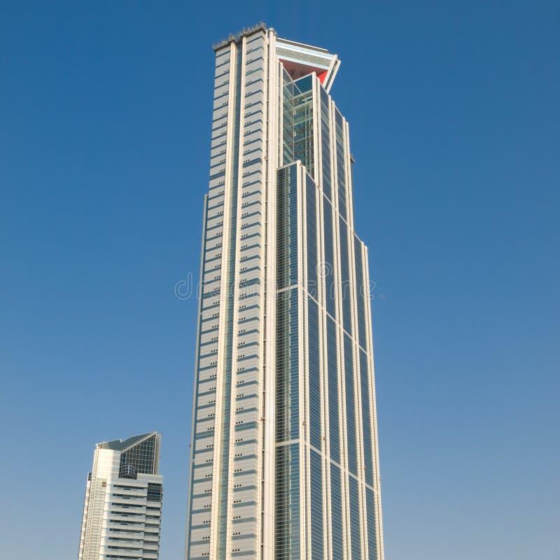 高大厦的办公室 库存图片