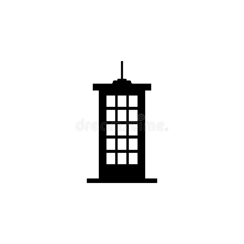 高大厦象 大厦象的元素流动概念和网apps的 详细的高大厦象可以为网使用和 皇族释放例证