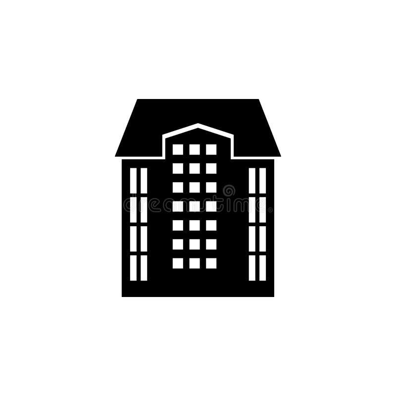 高大厦象 大厦象的元素流动概念和网apps的 详细的高大厦象可以为网使用和 向量例证