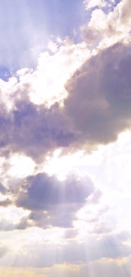 高天空 免版税库存图片
