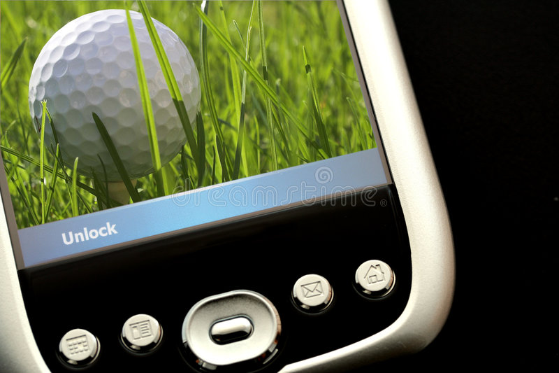 高尔夫球使用 库存图片