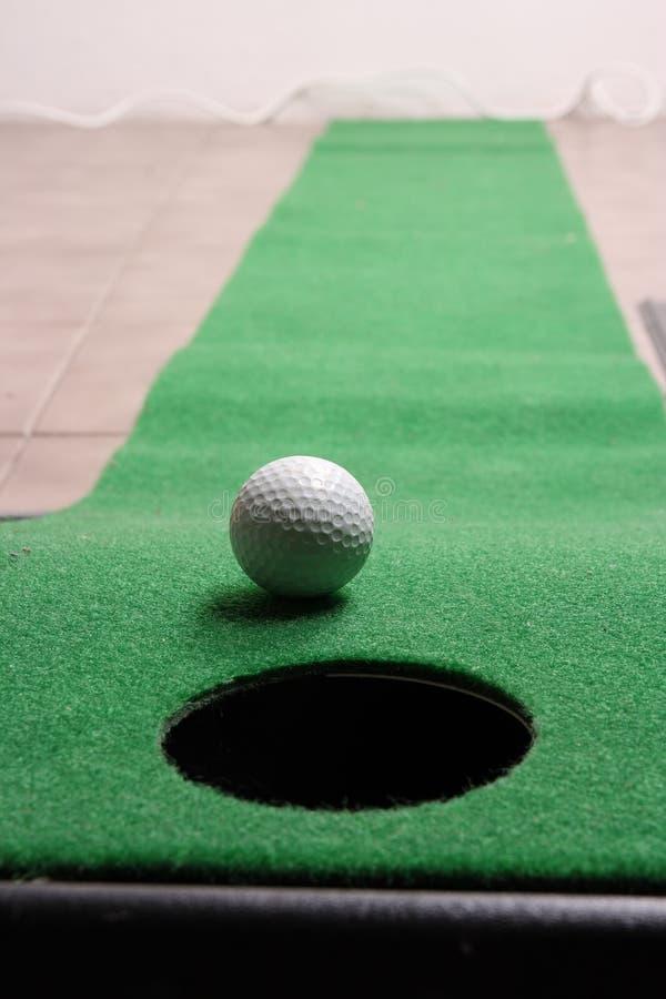 高尔夫球办公室 图库摄影