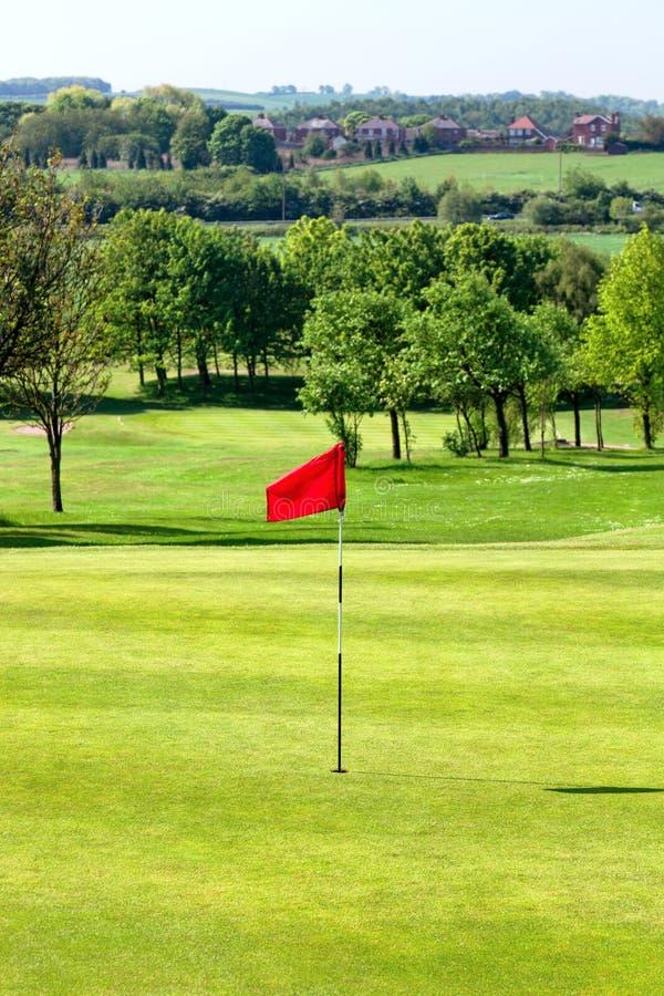高尔夫球场,英国 库存图片