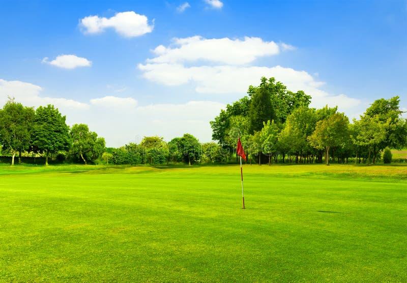 高尔夫球域 库存照片