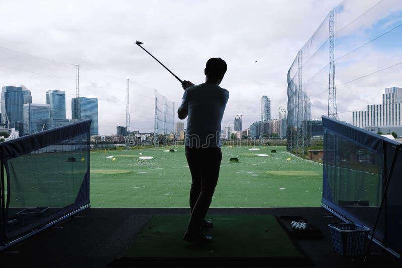 高尔夫球时间 免版税库存照片