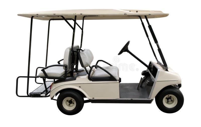 高尔夫球汽车 免版税库存图片