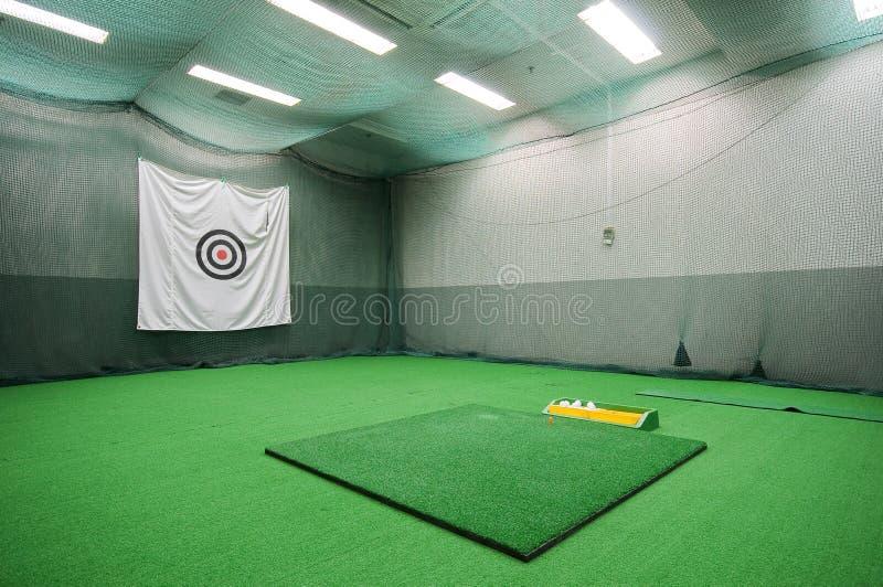 高尔夫球空间 免版税库存图片