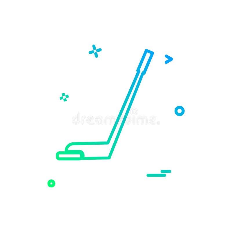 高尔夫球象设计传染媒介 向量例证