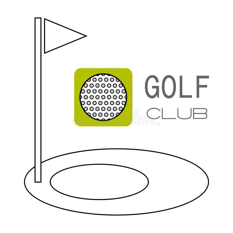 Download 高尔夫球,比赛的孔 平的颜色象 体育对象 向量例证. 插画 包括有 招待, 对象, 详细资料, 漏洞, 目标 - 72374759