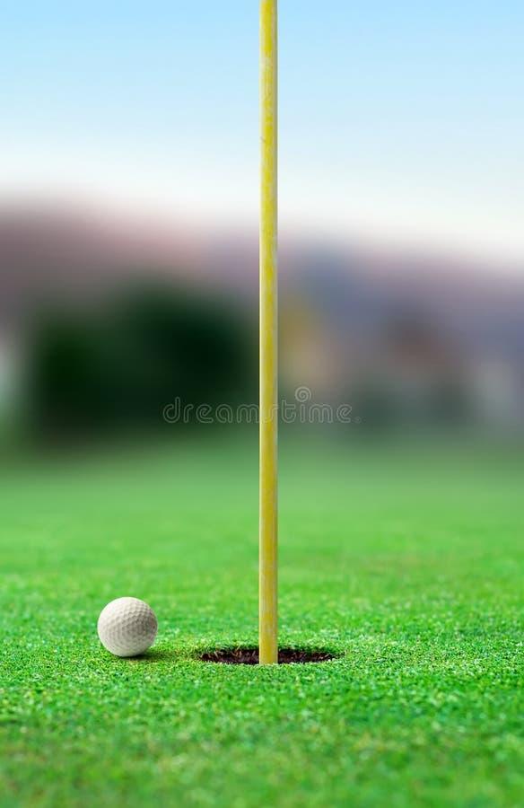 高尔夫球 库存照片