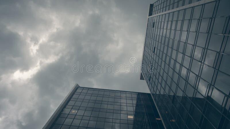高层建筑物,多伦多,安大略,加拿大 免版税库存照片