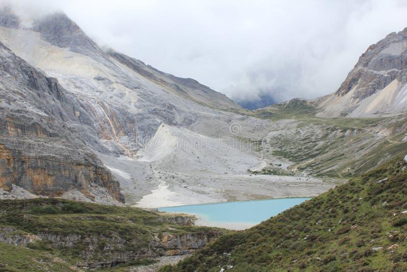 高山冰川 免版税库存图片