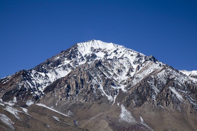 高山脉山 库存图片
