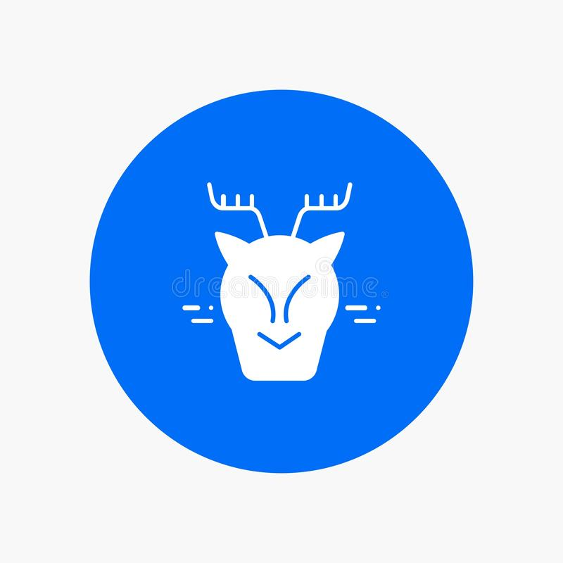 高山,北极,加拿大,驯鹿 皇族释放例证