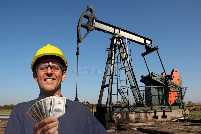 高收入工作概念 免版税图库摄影