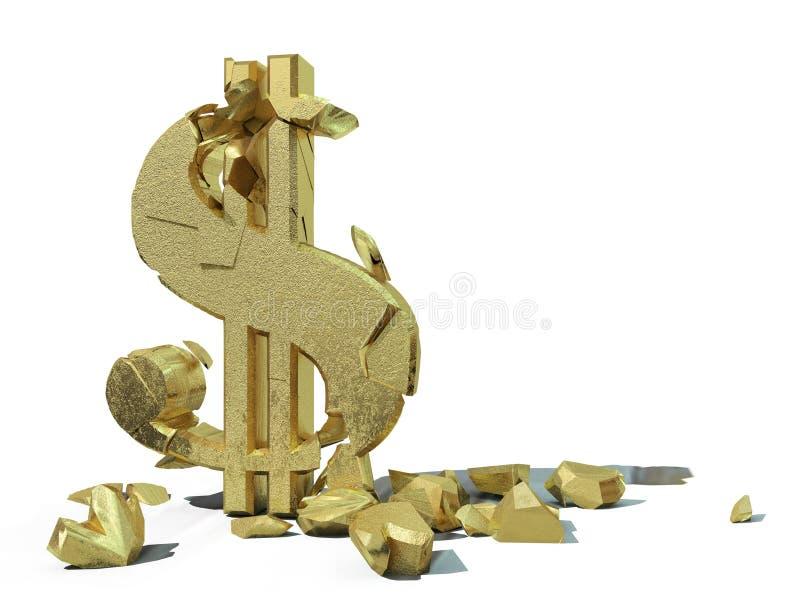 高明的美元 免版税图库摄影