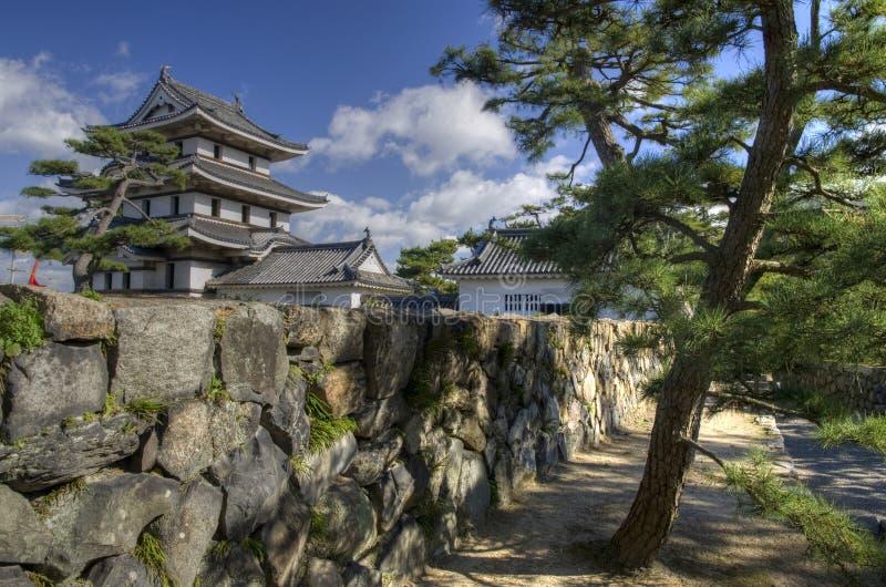 高松城堡公园,日本 图库摄影