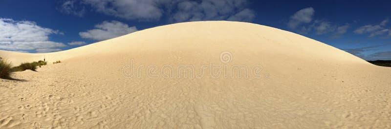 高沙子小山土坎全景  一点Sahar全景  免版税库存照片