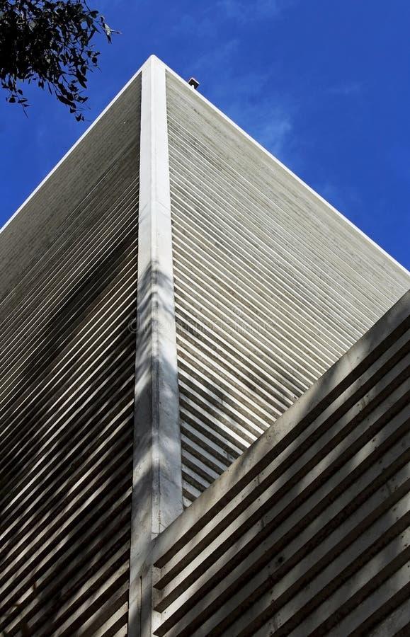 高海湾物理实验室大厦,加州大学圣地亚哥分校 库存图片