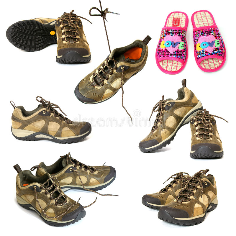 高涨拖鞋的启动 图库摄影