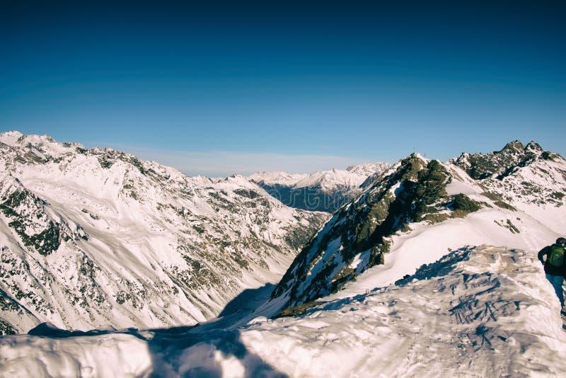 高涨路径在朱利安阿尔卑斯 免版税图库摄影