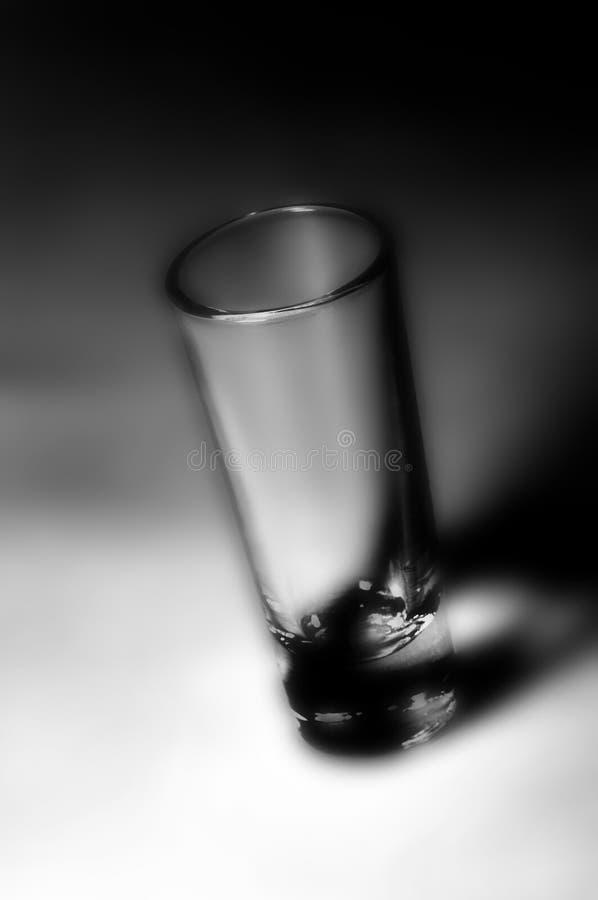 高玻璃的射击 库存照片