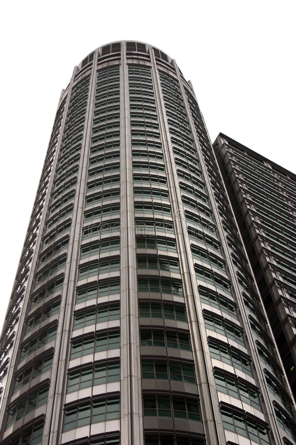 高的摩天大楼 库存照片