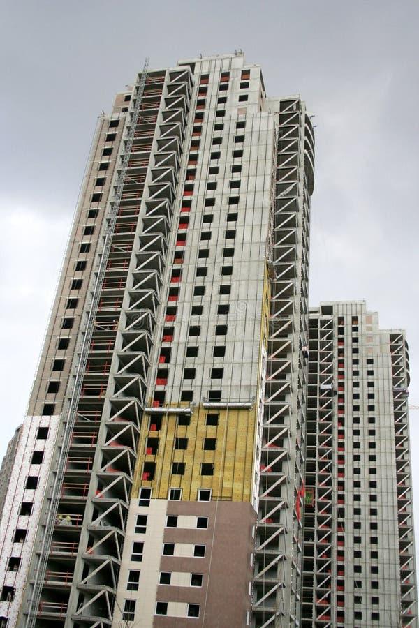 高的楼房建筑 免版税库存图片
