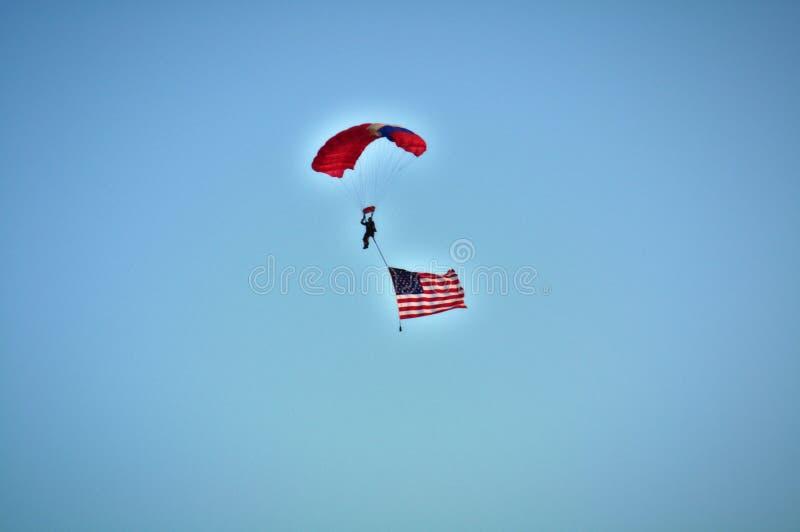 高的Flyin 免版税图库摄影